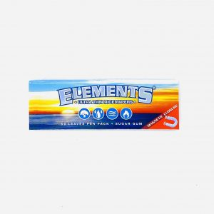 ELEMENTS 1 1/4 SIZE ULTRA THIN RICE MAGNETIC ROLLING PAPER
